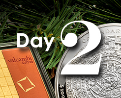 Day 2 of APMEX's 12 Days of Christmas!