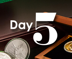 Day 5 of APMEX's 12 Days of Christmas!