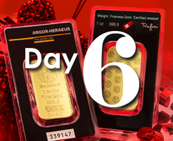 Day 6 of APMEX's 12 Days of Christmas!