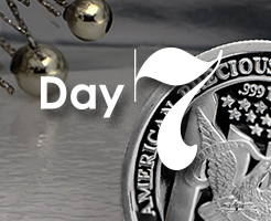 Day 7 of APMEX's 12 Days of Christmas!
