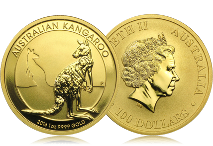2016 Australia 1 oz Gold Kangaroo