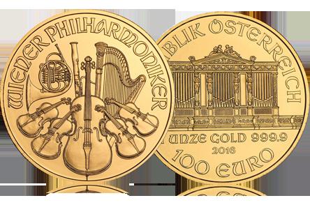 2016 Austria 1 oz Gold Philharmonic