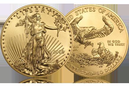 2016 1 oz Gold American Eagle