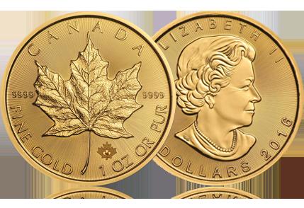 2016 Canada 1 oz Gold Maple Leaf