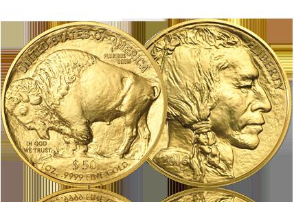 2016 1 oz Gold Buffalo