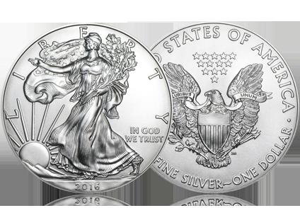 2016 1 oz Silver American Eagle