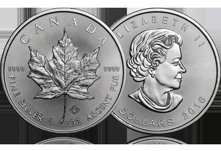 2016 Canada 1 oz Silver Maple Leaf
