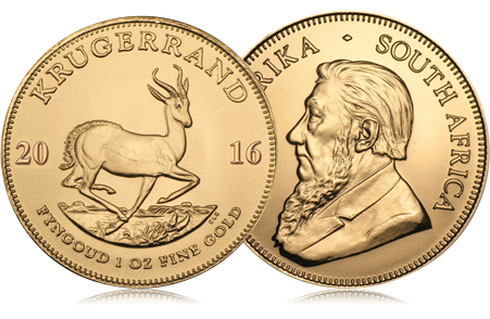 2016 South Africa 1 oz Gold Krugerrand