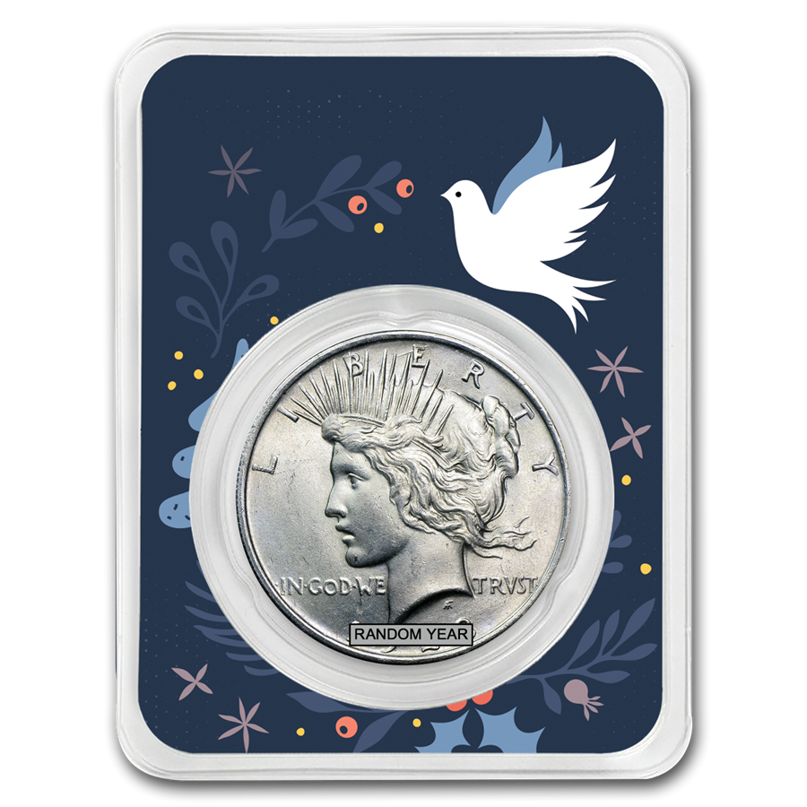 1922-1935 Peace Silver Dollar Dove of Peace BU (Random Year)