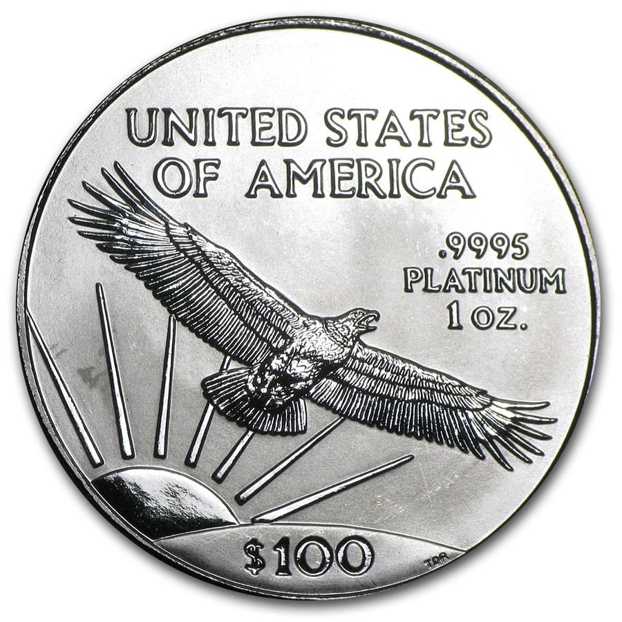 1997 1 oz American Platinum Eagle BU Rev