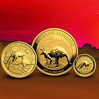 Australian Classic: Gold Kangaroo Coins