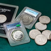 Morgan Silver Dollars (1878-1904, 1921)