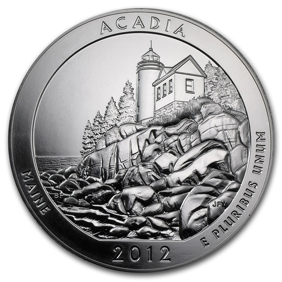 Celebrate National Lighthouse Day with the ATB Acadia National Park Coin