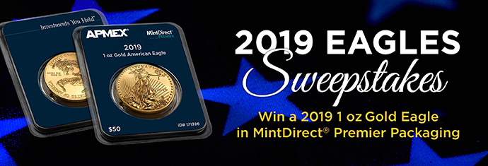 2019 MintDirect® Eagles