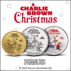 APMEX Teams Up with Peanuts Worldwide to Produce Collectible A Charlie Brown Christmas Products