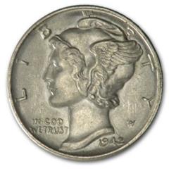 The 1942/1 Mercury Dime Overdate