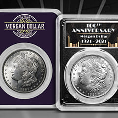 100 Years of the 1921 Morgan Silver Dollar