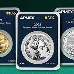 About the APMEX MintDirect® Premier with PCGS FirstStrike® Program