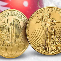 Holiday Gift Ideas: Gold Coins from Around the World