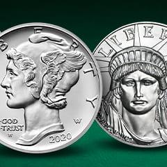 Latest Additions: American Platinum & Palladium Eagles