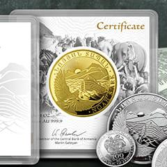 Series Spotlight: Armenian Noah's Ark Coins
