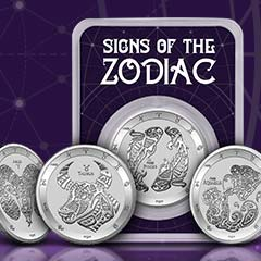 Explore the New APMEXclusive® Signs of the Zodiac Series