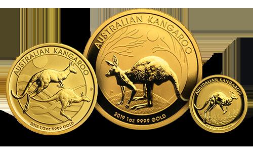 Austrailian Silver and Gold Kangaroo