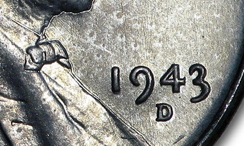 1943-D Wheat Penny Mint Error Production