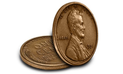 1921 Lincoln Cent