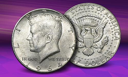 1964 Kennedy Silver Halves