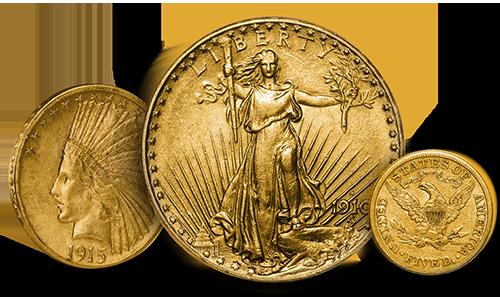 Pre-33 Gold Coins