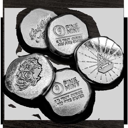 9Fine Mint Lucky Pieces Line