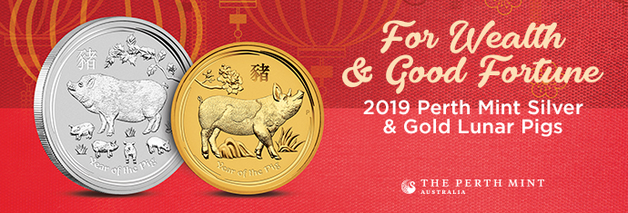 Lunar Year of the Pig Coins
