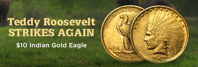$10 Indian Gold Eagles