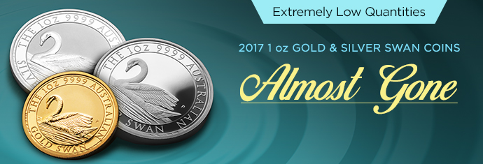 2017 Gold and Silver Swan Coins