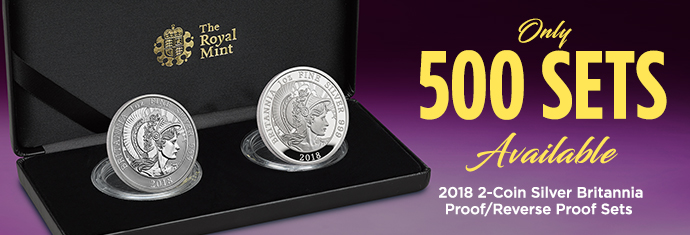 2-coin Silver britannia set