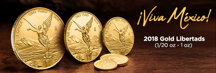 2018 Gold libertads