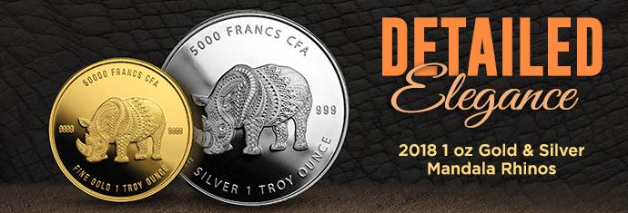 Chad Mandala Lion Coins
