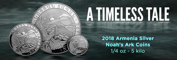 2018 Armenia Silver Noah's Ark Coins