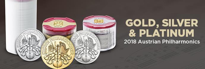 Gold, Silver & Platinum 2018 Austrian Philharmonics