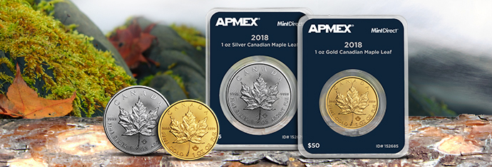 2018 Gold and Silver Maple Leafs