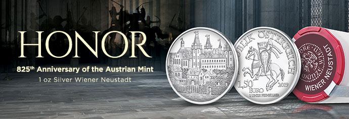 Austrian Mint - 1 oz Silver Weiner Neustadt