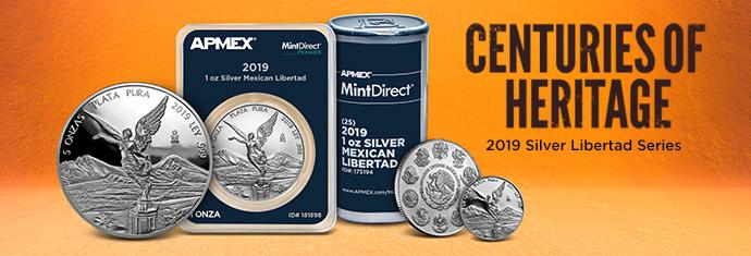 2019 Mexican Silver Libertads