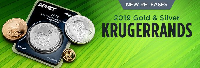 2019 Gold and Silver Krugerrands