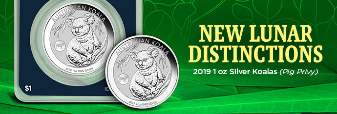 2019 Silver Koalas at APMEX