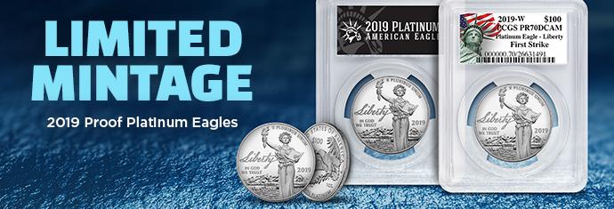2019 Proof Platinum Eagles