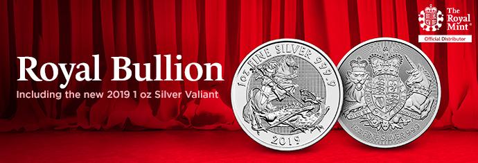 2019 Royal Mint Silver Valiant