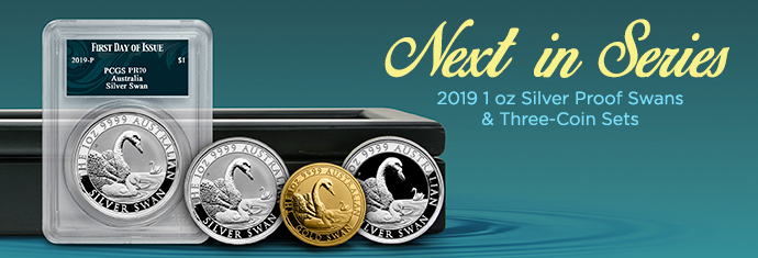 Dòng Perth Mint Swan 2019