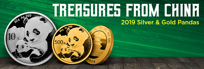 2019 Silver and Gold Pandas