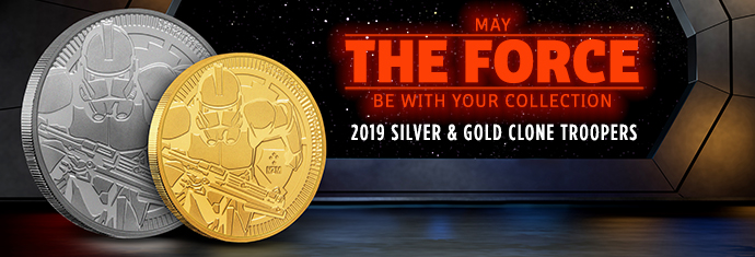 2019 Silver and Gold Clone Troopers
